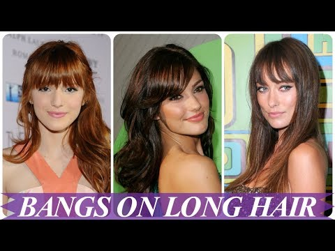Chic Hairstyles For Long Hair With Bangs For Women