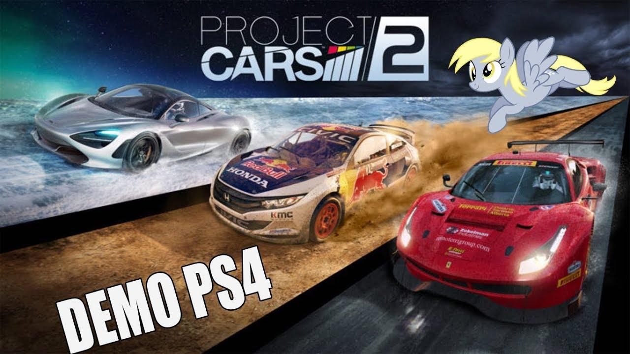 Project Cars 2 Ps4 Demo Mi Coche No Gira Probando Dos Circuitos