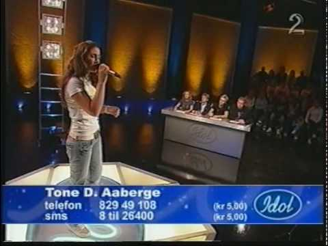 Norwegian Idol 2005 -Tone Damli Aaberge - Sunday Morning