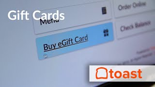 With toast restaurant pos, gift cards are an integrated feature in the all-in-one management software. fact that tied right to ...