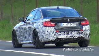best of bmw m2 f87 sounds on the nurburgring