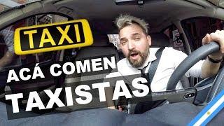 ACÁ COMEN LOS TAXISTAS - Influencers yendo en auto a comer a bodegones #001