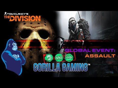 [The Division] 🦍Gorilla Gaming™|🏴 Global Event 2: Assault 🏴 | 🦍