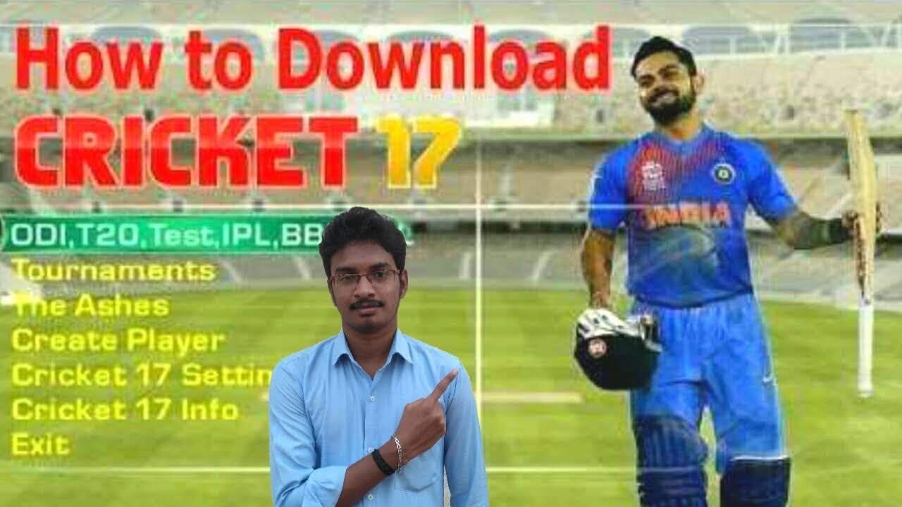 How To Download Ea Sports Cricket 2017 Game For Pc 100 Working Part 1