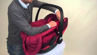 Maxi-Cosi | How to install the Footmuff Pebble and Pebble Plus baby car seat