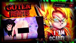 "Goten Reacts To Dragon Ball Sex - ""Saiyan Girl Toma vs Z Fighters"" - (DBS Parody) (WARNING 18+)!"