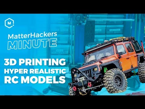 Creating Scale Model Construction Vehicles with 3D Printing