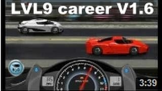 Repeat youtube video Drag Racing win complete level 9 career Ferrari FXX with 1 tune setup V1.6