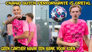Chahid Dutch Performante is gretig, Geen Cartier maar een bank voor Koen!
