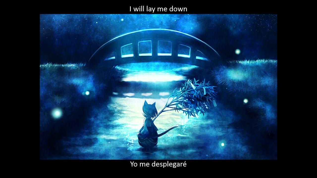 letra de puente sobre aguas turbulentas: