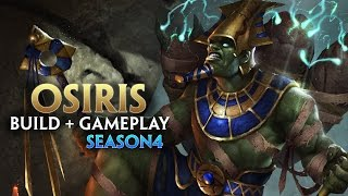 SMITE SEASON 4 : OSIRIS Build + Gameplay!