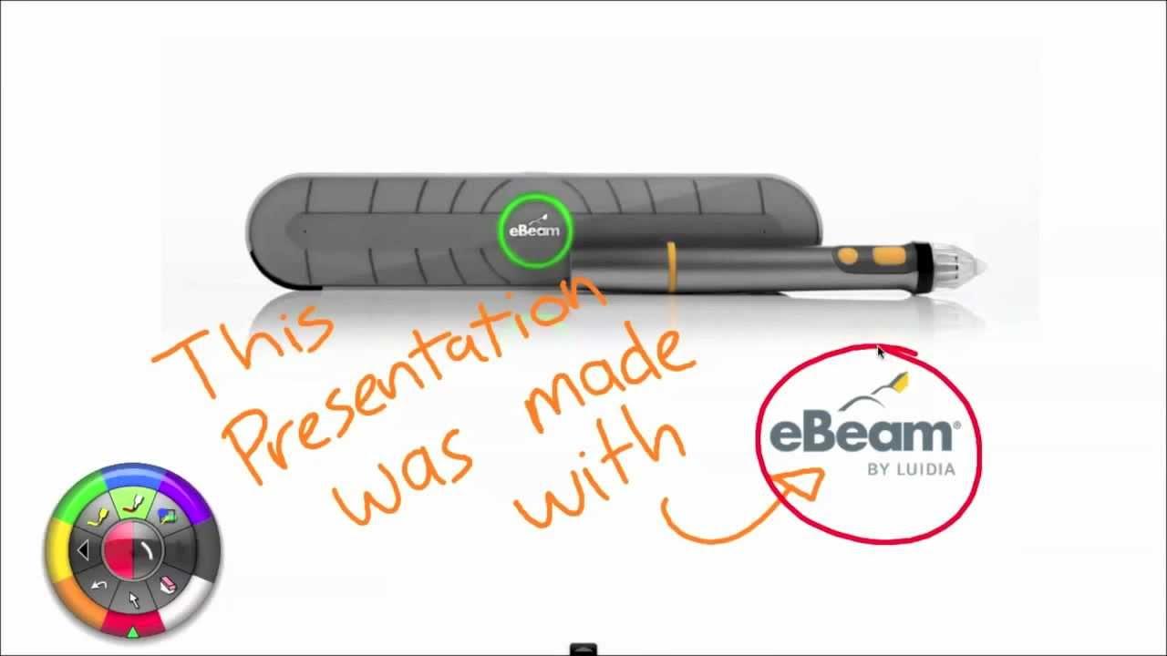 Ebeam Interactive Suite 3