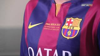 He first team will be donning a special shirt for the champions league final in berlin on saturday. along with names of two finalists, it also features t...