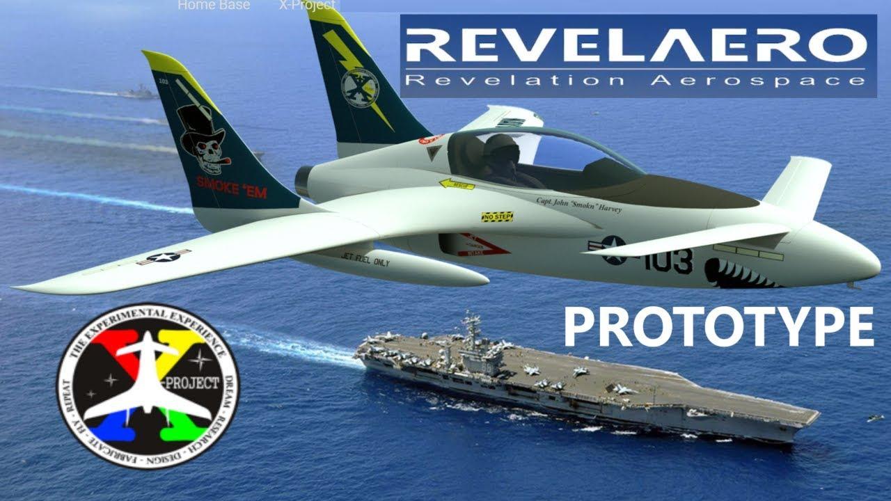 X Project Composite Jet by RevelAero