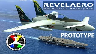 Military Aircraft Clone? Drone? X Project Composite Jet - Fast! Kitplane!