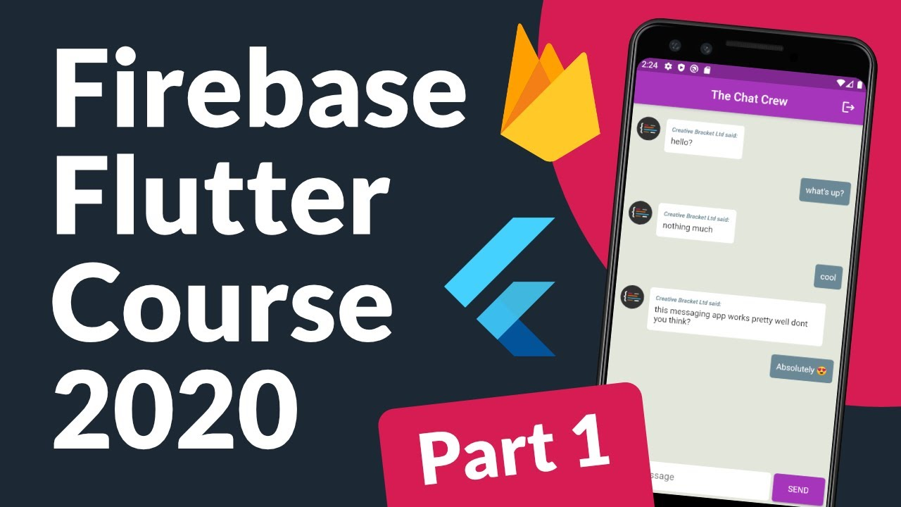 Firebase Authentication and Flutter Full Course | Messaging App (Part 1)