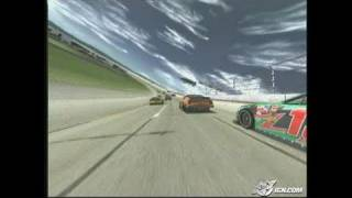 NASCAR 2005: Chase for the Cup PlayStation 2 Gameplay - On
