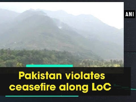 Pakistan violates ceasefire along LoC - Jammu and Kashmir News
