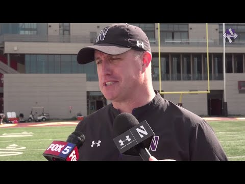 Football - Holiday Bowl Sound: Pat Fitzgerald (12/27/18)
