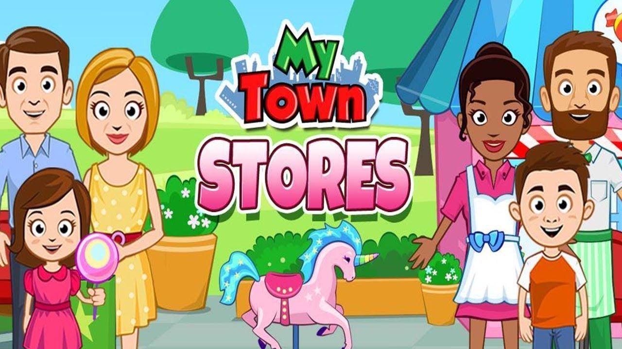 My Town веселое ВИДЕО ДЛЯ ДЕТЕЙ игровой мультик детская игра Май Таун от канала super Girl