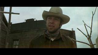 classic scene from the movie a fist full of dollars