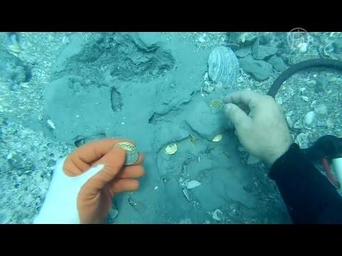 Кладоискатели нашли золото испанцев на $1 млн (новости)