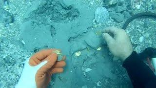 Кладоискатели нашли золото испанцев на $1 млн (новости)(http://ntdtv.ru/ Семья кладоискателей нашла у побережья Флориды испанское золото стоимостью более одного миллион..., 2015-07-30T15:02:56.000Z)