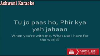 Mere Haath Mein Karaoke with female voice