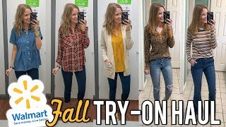 Walmart Fall Fashion Try-On & Haul! | LipglossLeslie