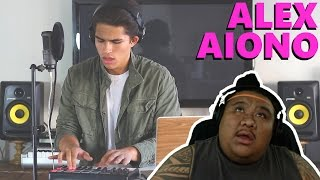 Music Reaction Alex Aiono Starving By Hailee Steinfeld & Grey Feat. Zedd With Surprise Mashup