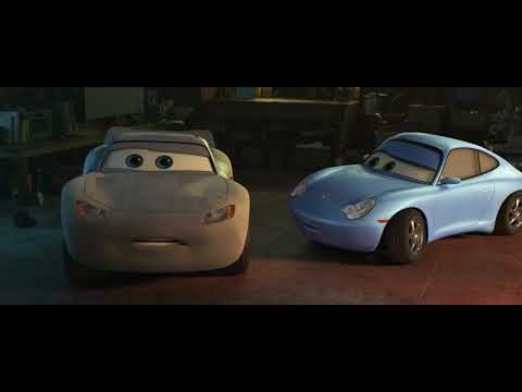 Cars 3 Sally Encourages Lightning Mcqueen Youtube