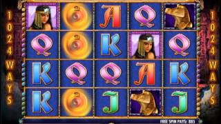 Igt Crown Of Egypt Slot Machine Online Game Play
