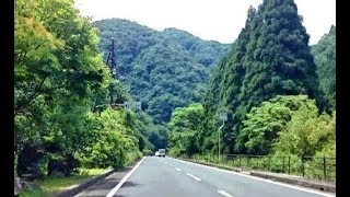 立久恵峡(島根県出雲市)~須佐神社まで(国道184号線)