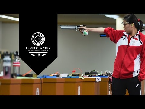 Shooting: Women's 10m Air Pistol - Day 2 Highlights Part 1 | Glasgow 2014