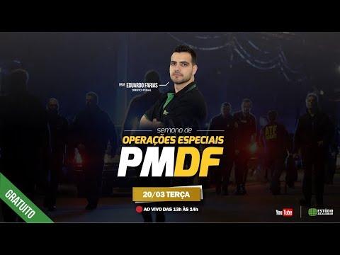 Semana de Operações Especiais PMDF | Direito Penal - Prof. Eduardo Farias