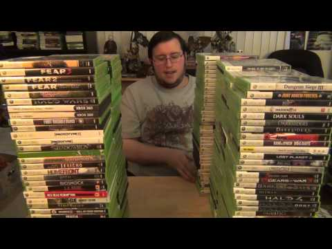 Gors Xbox 360 Collection Part 1 (OVER 500 GAMES!) *NEW 360 Collection Up NOW*