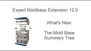 Creo Parametric - Expert Moldbase Extension 12.0 - New Moldbase Definition Summary Tree
