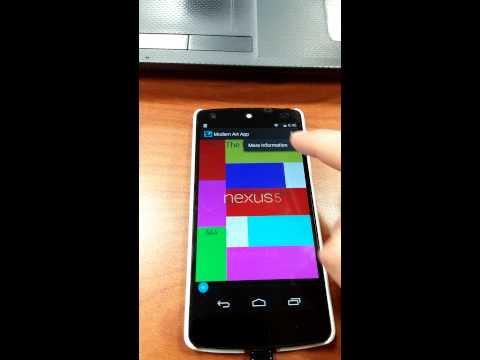 My modern art app :)
