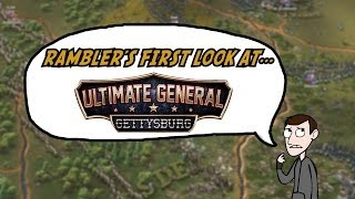 Ultimate General: Gettysburg - Gameplay - Confederates!