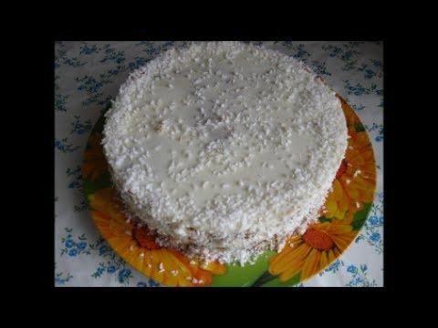 Торт  без выпечки. Часть 1