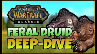 Classic Vanilla WoW FERAL DRUID Deep-Dive with Skarm | Classic WoW Druid Tank Guide