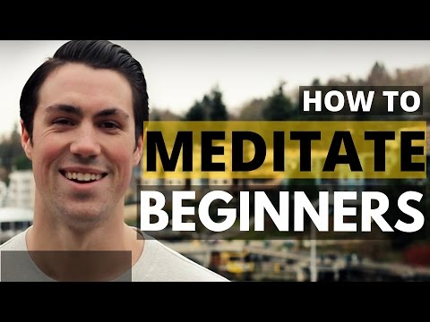 MEDITATION | Beginner Meditation Techniques To Lower Stress,
