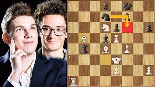 Don't Watch This... Too Complicated... || Caruana vs Duda || Tata Steel Masters (2020)