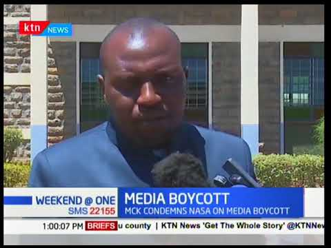 MCK condemns call by NASA for the boycott on products of a local media house