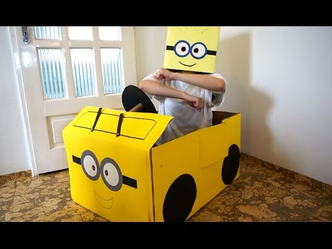 "Thumbnail: MINION CAR TOY ""The Wheels on the Bus go round and round"""