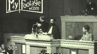 1936 Emperor Haile Selassie of Ethiopia Addresses League of Nations
