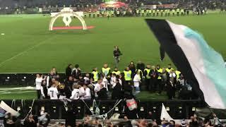 Lazio fans singing Gigi DAgostinos LAmour Toujours - 2019 Coppa Italia final