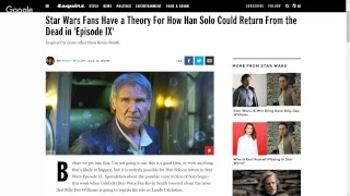 If Han Solo Returns, We Riot