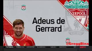 Gerrard mito - homenagem de despedida