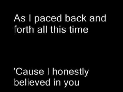 White horse - Taylor Swift ( lyrics on screen)
